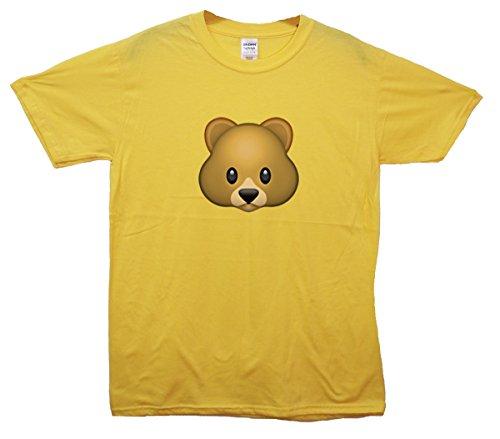 Bear Emoji T-Shirt Gelb