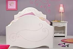 jugend zimmer prinzessin bett m dchen bett 90x200. Black Bedroom Furniture Sets. Home Design Ideas