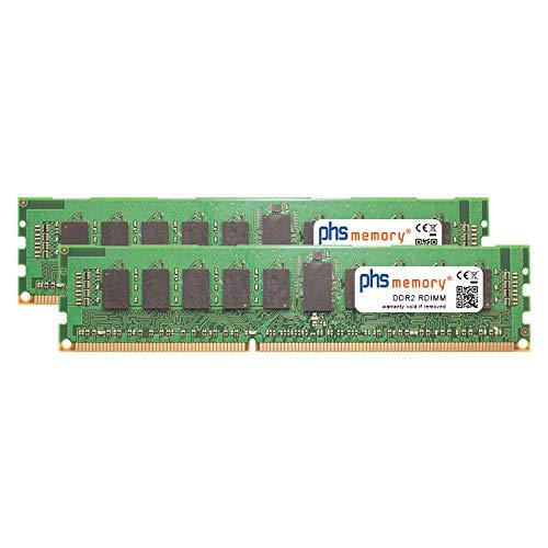 PHS-memory 2GB (2x1GB) Kit RAM Speicher für Oracle Sun Fire T2000 DDR2 RDIMM 533MHz - T2000-server-speicher