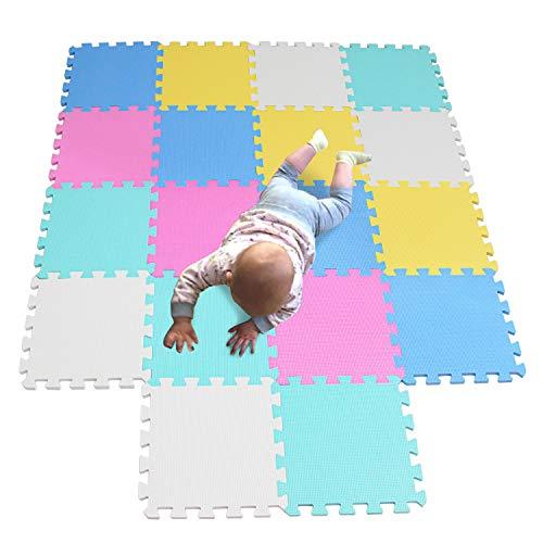 MQIAOHAM Baby Boden für mädchen mat mit Puzzel puzzelmatte puzzlematte puzzleteppich Schaumstoff spielematten spielunterlage Mehrfarbig 5color2 -