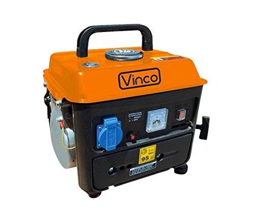 60104 Generador de corriente portátil semisilencioso 2 tiempos VINCO mezcla
