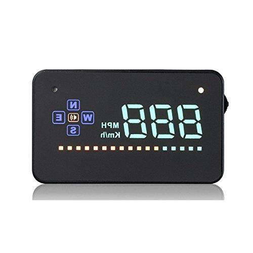 Etbotu GPS HUD Display Digital Universal HD Projektions Auto LKW Geschwindigkeitsmesser Geschwindigkeits Warnung