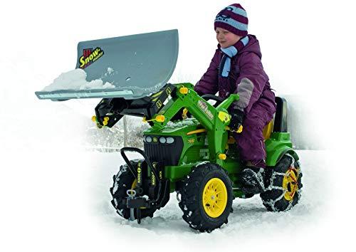 Rolly Toys 409617 rollySnow Master Planierschild für Traktor rollyJunior, rollyFarmtrac, rollyFarmtrac Classic, rollyFarmtrac Premium, rollyX-Trac, rollyTruck(Unimog) | Schneeschild Frontanbau - 5