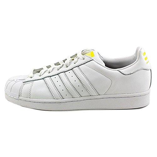 Adidas Superstar Pharrell Supershell Herren Skateboarden-Schuhe S83350 White/White