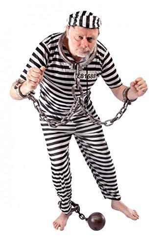 Kostüm Bagnard - P 'tit Clown 89290Kabeltrommel Kostüm Erwachsene bagnard-Einheitsgröße-Mehrfarbig
