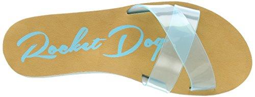 Rocket Dog Pascal, Infradito da Donna Turchese (Turquoise (Pvc))