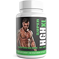 Testosterone Boosters for Men 3 Months Supply Super HGH XL Performance Enhancing 180 Capsules Bulk Pack Supercharge Testosterone Booster Testro T3 ub