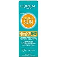 L'Oréal Paris Sublime Sun Cellular Protect Crema Solare Viso IP 50+, 75 ml