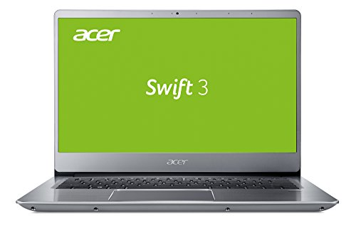 Acer Swift 3 (SF314-54G-899V) 35,6 cm (14 Zoll Full HD IPS matt) Ultrabook (Intel Core i7-8550U, 8 GB RAM, 512 GB SSD, NVIDIA GeForce MX150, Win 10) silber