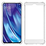 TIYA Case Clear for VIVO NEX 2 (Dual Display) TPU Four