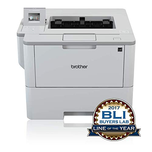 Brother HL-L6300DW A4 monochrom Laserdrucker (46 Seiten/Min., Drucken, 1.200 x 1.200 dpi, Print AirBag für 750.000 Seiten)