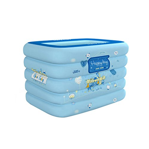 TINGTINGDIAN Baby Schwimmbad Hause Kinder aufblasbare Pool Isolierung Verdickung Baby schwimmwanne Neugeborene kinderwanne Fünf-Schicht erhöhung