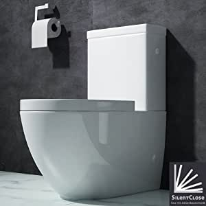 wc toilette wc poser abattant silencieux lunette de wc 376a bricolage. Black Bedroom Furniture Sets. Home Design Ideas