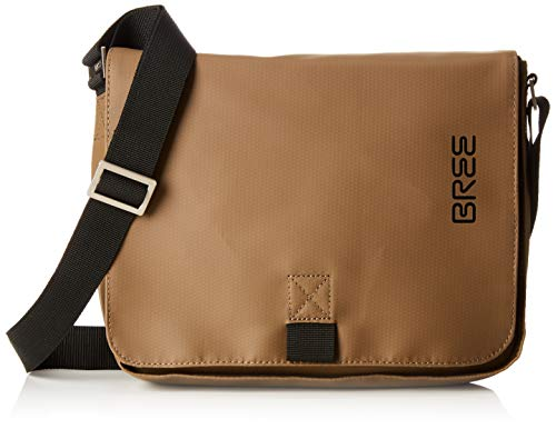 BREE Collection Unisex-Erwachsene Punch 61, Clay, Shoulder Bag S19 Schultertasche, Gelb, 6x21x34 cm