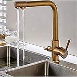 Moderne Mode Trinkwasser Wasserhahn 3 Way Wasserfilter Luftreiniger Küchenarmaturen Für Waschbecken Wasserhähne