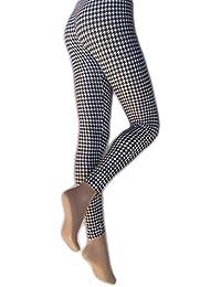 Silky - Leggings imprimé pied-de-poule - Femme