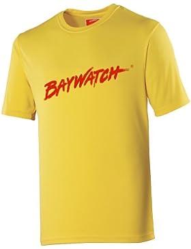 Oficial BAYWATCH amarillo Cooltex T Shirt