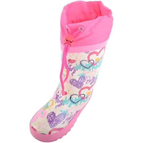 Absolute Footwear Childrens/Kids/Girls Waterproof Rain Winter Wellington Boots/Wellies