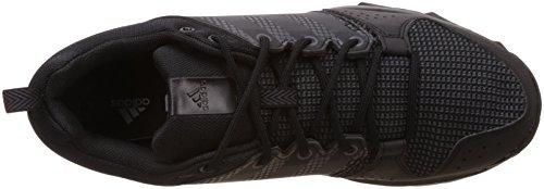 adidas Galaxy Trail M, Chaussures de Running Homme, Noir Noir - Negro (Negbas / Hiemet / Neguti)
