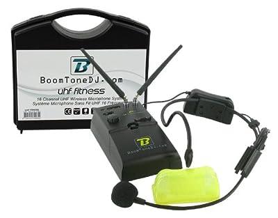 BoomToneDJ Fitness HF-Uhf Wireless Microphone