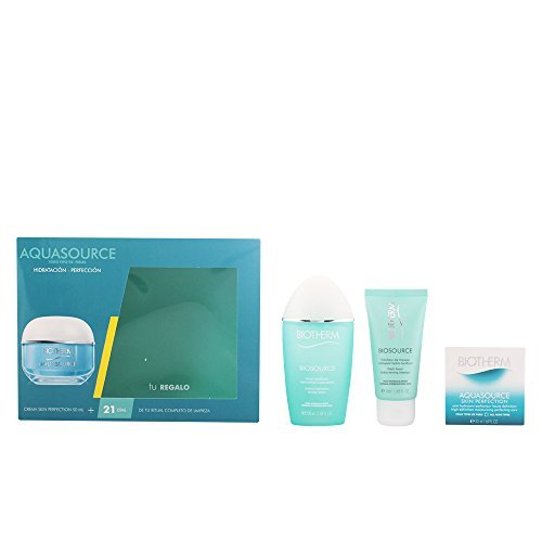 Aquasource Skin Perfect Facial Cream/Facial Cleanser/Lotion Set - Pack of 3 by AquaSource