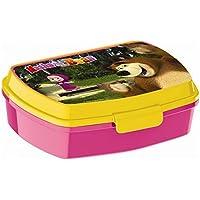 Preisvergleich für Mascha and the bear - Kinder Brotdose / Lunchbox - tolle Geschenkidee