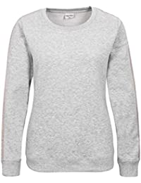 sweatshirt mit reißverschluss ohne kapuze damen
