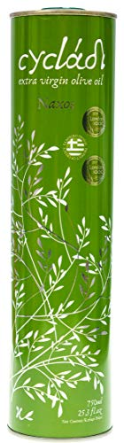 Cycladi Premium Extra Virgin Olive Oil from Greece, Cold Pressed Pure Olive Oil for Salads, Vegetables, Cheese and All Sorts of Foods, 750ml