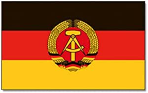 Flaggenking Flaggen Fahnen Ddr Neu Wetterfest Mehrfarbig 150x90x1 Cm 16347 Garten