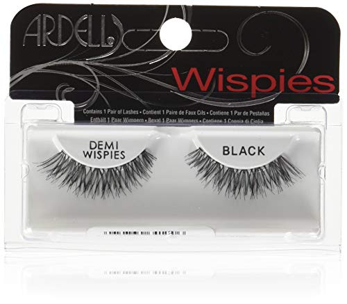 Ardell Invisibands Demi Wispies, das Original, black, 1er Pack (1 x 1 Paar)