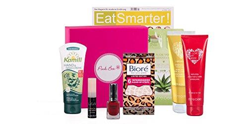 Pink Box - Wünsch Dir was +++ Deine Pink Box beinhaltet 5 Kosmetiküberraschungen +++ PLUS: Inklusive Mode- und Lifestylezeitschrift