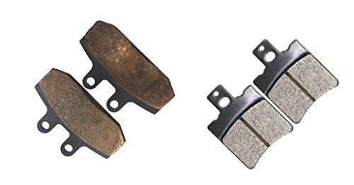 Preisvergleich Produktbild [die schifffahrt in deutschland] Semi Metallic Bremse Pad Set for MOTO-MORINI Street Bike 501 cc 501cc Camel 88 1988 &up 4 Pads