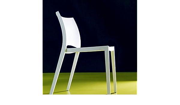 Set di sedie aqua di bontempi impilabile in polipropilene
