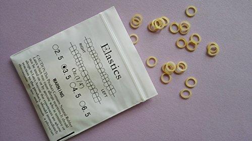 Dental kieferorthopädischer Latex Elastiken,3.5oz 1/4inch ,orthodontic latex elastics