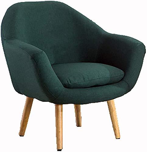 MJK Einzelsessel Sofa Stuhl Esszimmerstuhl Cafe Western Restaurant Hotellobby Schreibtisch und Stuhl Restaurantstuhl Lounge Chair, L75Xw56Xh62Cm,A6