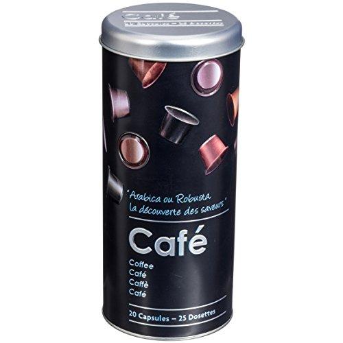 Promobo - Boite A Capsules Relief Dosette Senseo Café Design Dosette Café