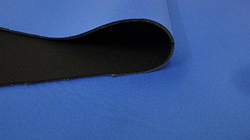 StoffBook ROYALBLAU/MARINE NEOPREN-IMITAT STOFF 3MM STRETCH DOUBLEFACE STOFFE, C261