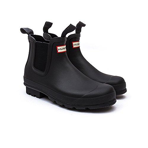 Hunter Original Dark Sole Chelsea Homme Boots Noir *