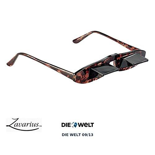 Zavarius Prismenbrille: 60° Blick-umlenkende TV-Brille mit Prisma (Fernsehbrille)