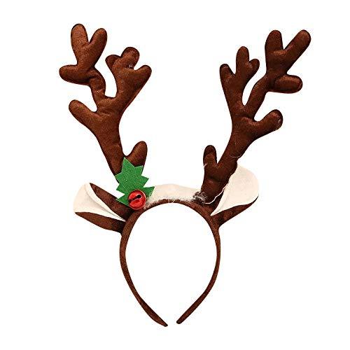 Thematys® Diadema asta Reno - Accesorio Navidad Adultos