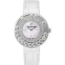 Swarovski 1160308 - Reloj para mujeres, correa de cuero color blanco