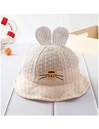 Casquette enfant Oreille de lapin à carreaux bébé baseball casquette de  baseball visière soleil chapeau de protection… 9ea44783acf