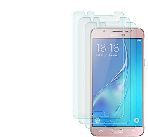 Cäsar-Glas [3 Stück] Panzerglas Schutzglas für Samsung Galaxy J5 [2016], Anti-Kratzer, Anti-Öl, Anti-Bläschen Schutzfolie Panzerfolie