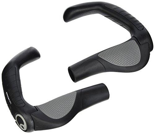 Ergon GP5-S Fahrradgriff, Black, S Touring Fahrrad Sitz
