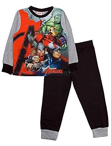 The Avengers - Ensemble de pyjama - Manches Longues - Garçon - gris - Medium