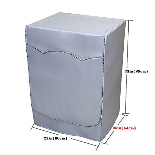 [Mr.You] funda para lavadora carga frontal impermeable a prueba de polvo (Delgado,Profundidad de...
