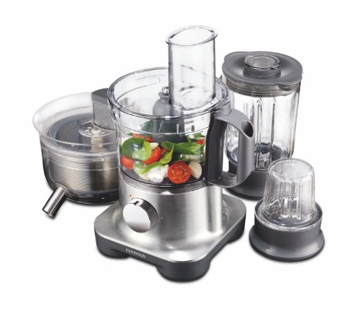 Kenwood FPM270 food processor - food processors (Black, Transparent, Plastic, Metal)