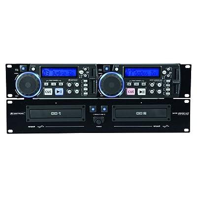 OMNITRONIC XCP-2800MT Dual CD player