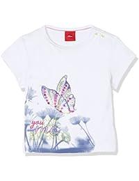 s.Oliver Baby-Mädchen T-Shirt Kurzarm
