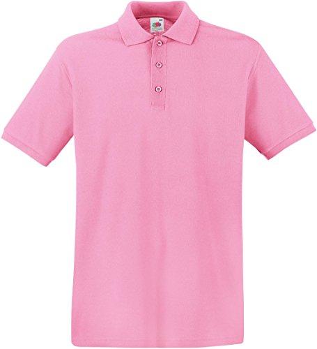 Fruit of the Loom Herren Poloshirt Light Pink